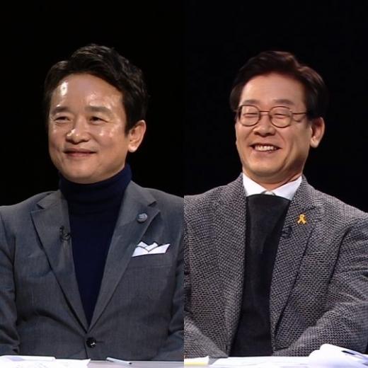 남경필 경기도지사(왼쪽)와 이재명 경기도지사 최종후보 /사진=JTBC 제공