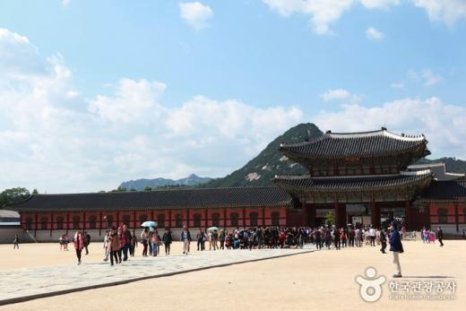경복궁 전경./사진=한국관광공사 제공