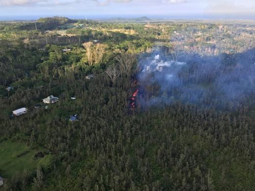 미국 하와이 킬라우에아 화산이 활동을시작했다./사진=뉴스1/AFP