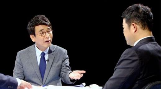 유시민 작가./사진=JTBC '썰전' 캡처