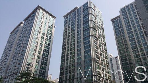 마포구 공덕역 인근의 한 주상복합 아파트. /사진=김창성 기자