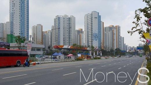 미사강변도시 일대 아파트 단지. /사진=김창성 기자