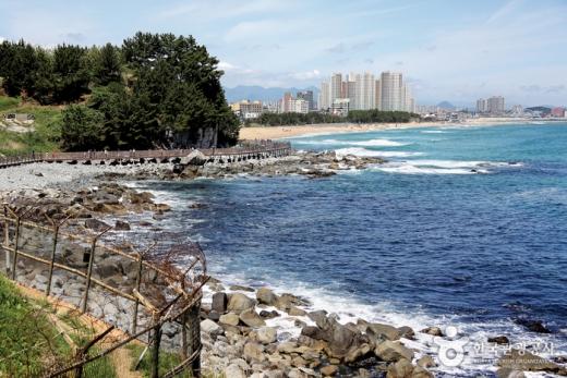 65년 만에 열린 속초의 비경인 외옹치 바다향기로. /사진=한국관광공사 제공