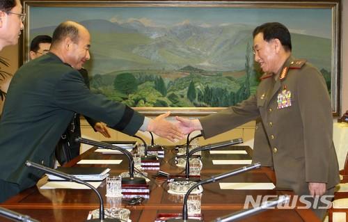 2007년 열린 남북 장성급 군사회담./사진=뉴시스