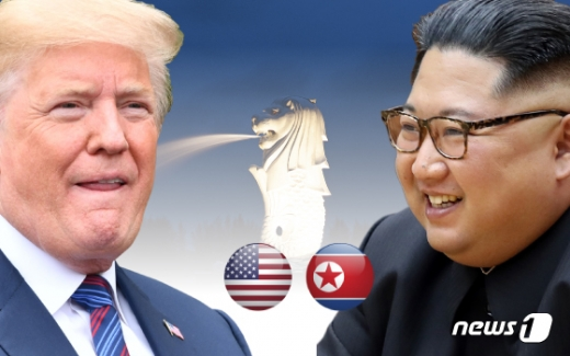도널드 트럼프 미국 대통령과 김정은 북한 국무위원장./사진=뉴스1