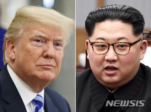 도널드 트럼프 미국 대통령과 김정은 북한 국무위원장./사진=뉴시스