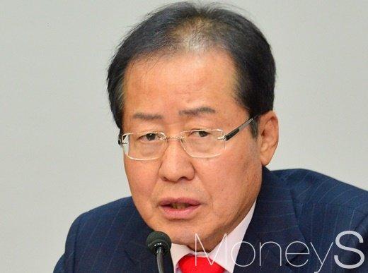 홍준표 자유한국당 대표. /사진=임한별 기자