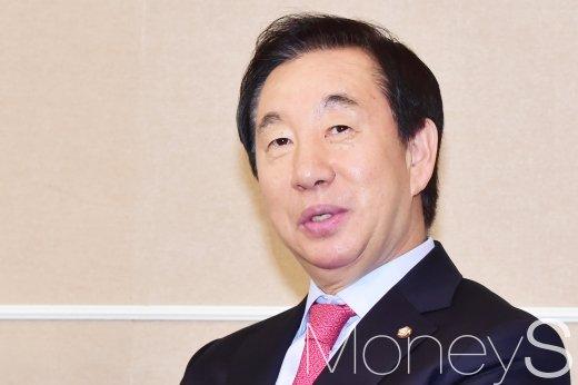 홍준표 사퇴. 사진은 김성태 자유한국당 원내대표. /사진=임한별 기자