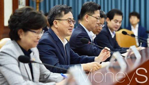 [머니S포토] 대외경제장관회의 주재하는 김동연 부총리
