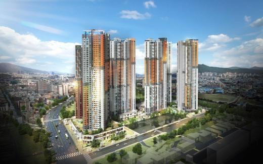 군포10구역 도시환경정비사업 조감도. /사진=호반건설