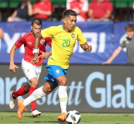 브라질의 핫한 공격수 호베르투 피르미누(26·리버풀). /사진=호베르투 피르미누 SNS