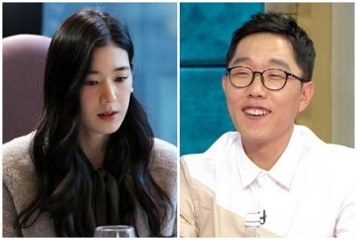 김제동 정은채. /사진=아이오케이컴퍼니, 라디오스타 제공