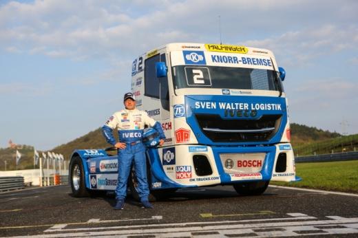 유럽 트럭 레이싱 챔피언 요헨 한(Jochen Hahn) /사진=한국타이어 제공