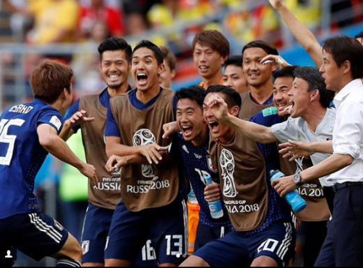 일본 축구 국가대표팀./사진=가가와 신지 인스타그램 캡처