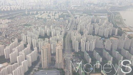 서울 잠실 일대 아파트 밀집 지역. /사진=김창성 기자