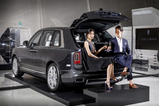 롤스로이스모터카, 브랜드 최초의 SUV '컬리넌' /사진=롤스로이스 제공