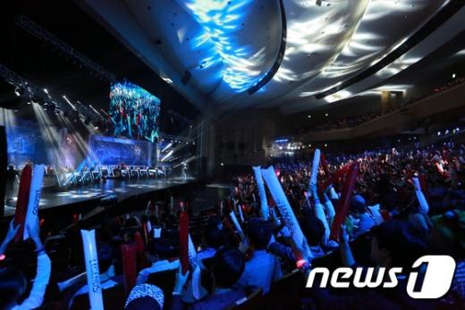 2014년 한국에서 열린 롤드컵./사진=뉴스1