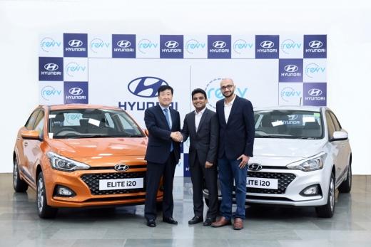 현대차, 인도 2위 차량공유업체 '레브'(ReVV)에 전략적 투자. /사진=현대자동차