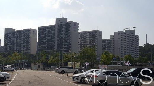 수서역 인근의 한 아파트 단지. /사진=김창성 기자