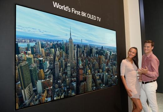 LG전자가 'IFA 2018'에서 8K 화질 올레드 TV를 세계 최초로 공개한다. /사진=LG전자