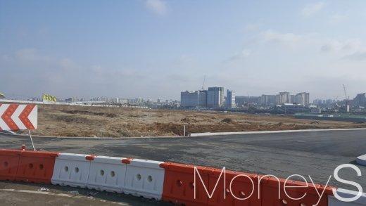 평택 고덕국제신도시의 한 개발 부지. /사진=김창성 기자