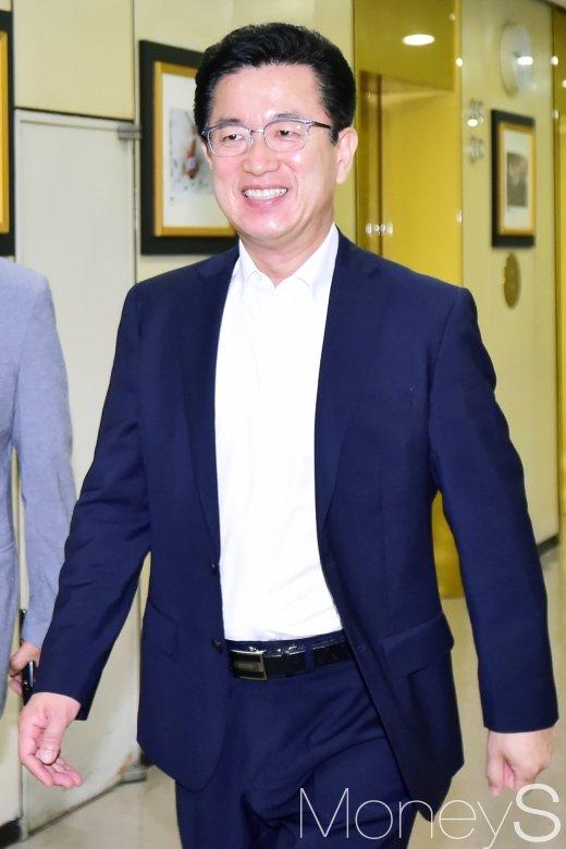 [머니S포토] 허태정 대전시장, 시‧도지사협의회 참석