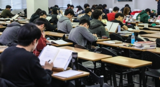 공부하는 취업준비생들./사진=뉴스1