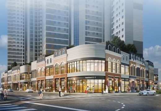 '진주혁신도시 중흥S-클래스 센트럴에비뉴' 상업시설 주목