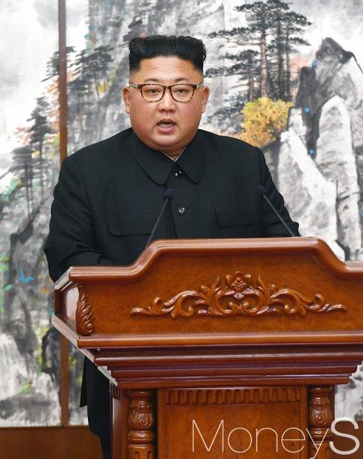 [머니S포토] 평양공동선언 발표하는 김정은 국무위원장