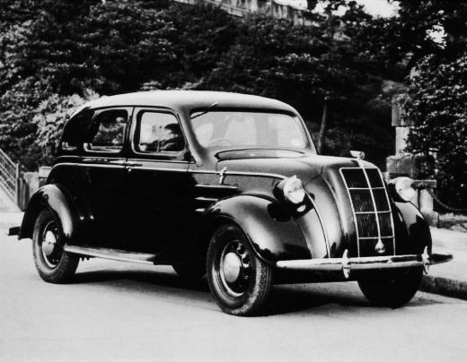 1936년 토요타 AA형 승용차 /사진=토요타