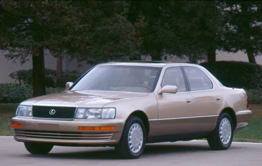 1세대 1990년형 LS 400 /사진=렉서스