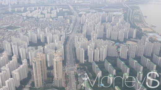 서울 송파구의 아파트 밀집 지역. /사진=김창성 기자