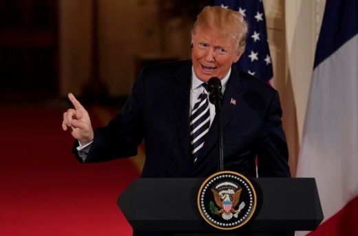 도널드 트럼프 미국 대통령. /사진=뉴스1(로이터)
