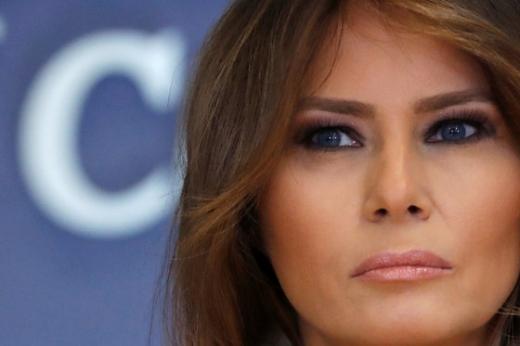 도널드 트럼프 미국 대통령의 부인 멜라니아 여사./로이터=뉴스1
