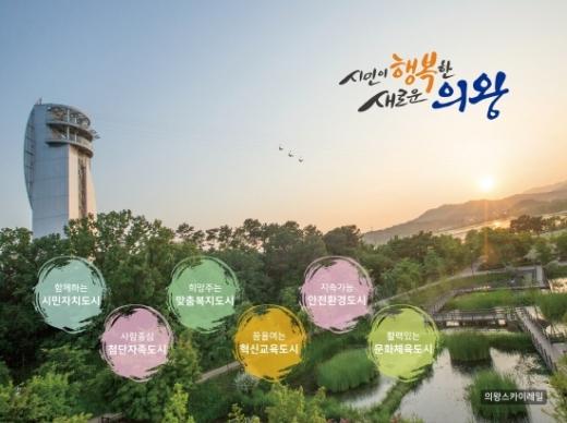 ▲ 의왕시, '민선7기 행복의왕 비전선포식' 개최. / 사진=의왕시