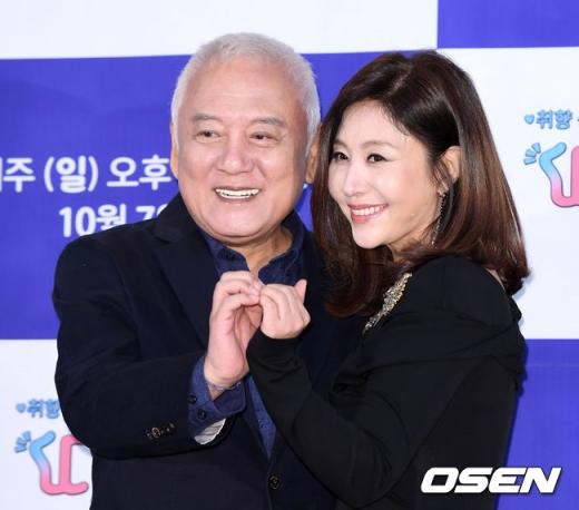 김한길 전 새정치민주연합 공동대표와 배우자 최명길./사진=OSEN