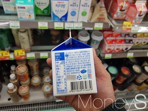흰우유 310ml 기준 나트륨 8%(155mg)의 나트륨이 함유돼 있다. /사진=류은혁 기자