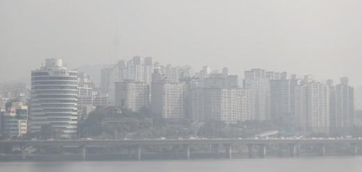 서울 여의도에서 바라본 도심. /사진=뉴시스