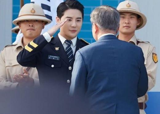 김준수 전역. /사진=김준수 인스타그램