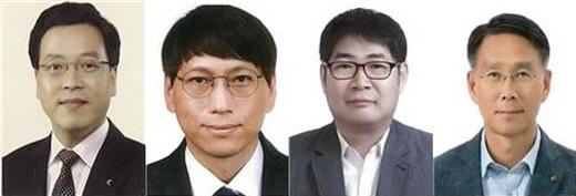 왼쪽부터 유기종 국민소통센터장, 고성훈 네팔사무소장, 어규철 탄자니아사무소장, 김상철 글로벌안전센터장. /사진=KOICA