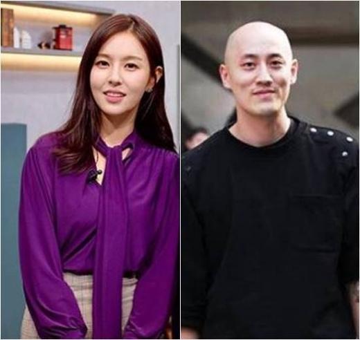 조수애 전 JTBC 아나운서(왼쪽), 박서원 두산매거진 대표./사진=조수애, 박서원 SNS 캡처