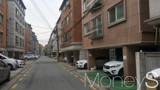 9호선 3단계 구간이 지나는 삼전동의 한 주택가. /사진=김창성 기자