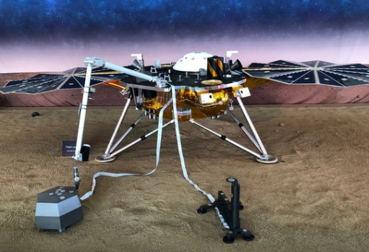 미국 항공우주국(NASA)의 화성 탐사선 '인사이트'. / 사진=로이터