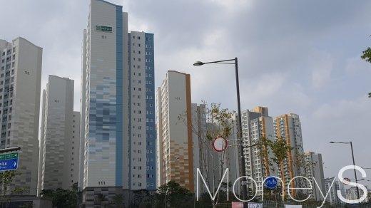 미사강변도시의 아파트 밀집 지역. /사진=김창성 기자