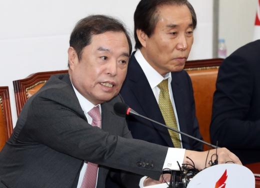 김병준 자유한국당 비상대책위원장. /사진=뉴시스 DB
