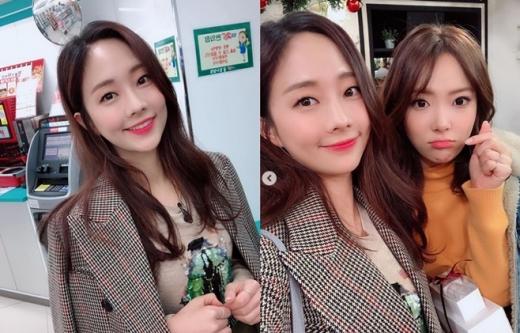 오영주(왼쪽)과 김장미./사진=오영주 인스타그램