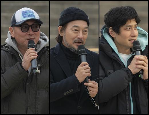아스달 연대기 고사현장 공개. /사진=tvN