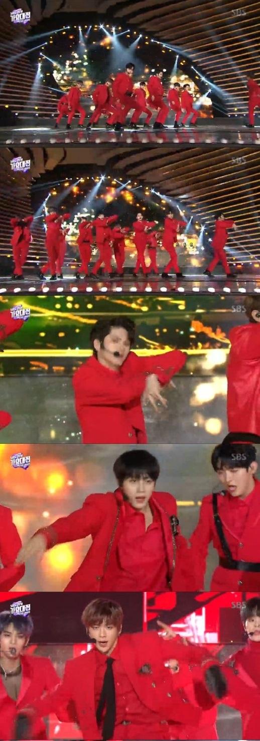 /사진='2018 SBS 가요대전' 방송 캡처