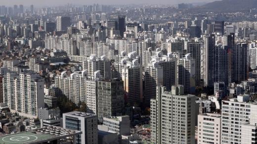 서울시내 한 아파트 밀집 지역. /사진=뉴시스 최진석 기자