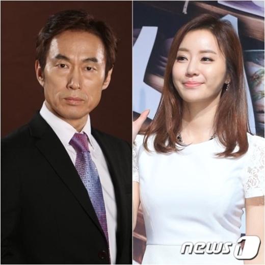 배우 조덕제(왼쪽)와 반민정. /사진=뉴스1